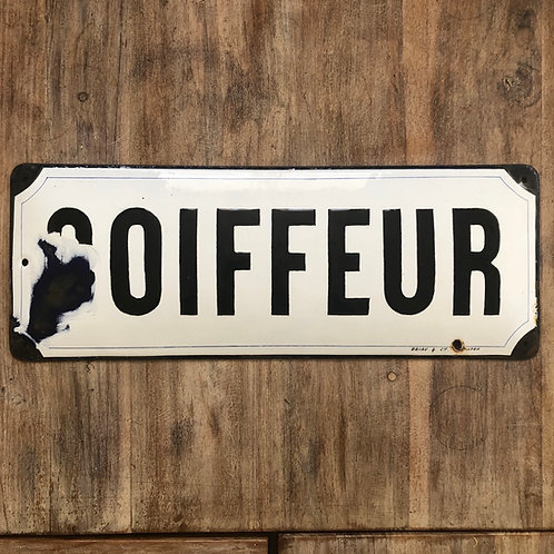 Plaque Coiffeur