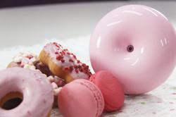 蜜糖粉-80702 馬卡龍甜甜圈水氧機