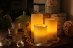 Ticktock LED 蠟燭燈
