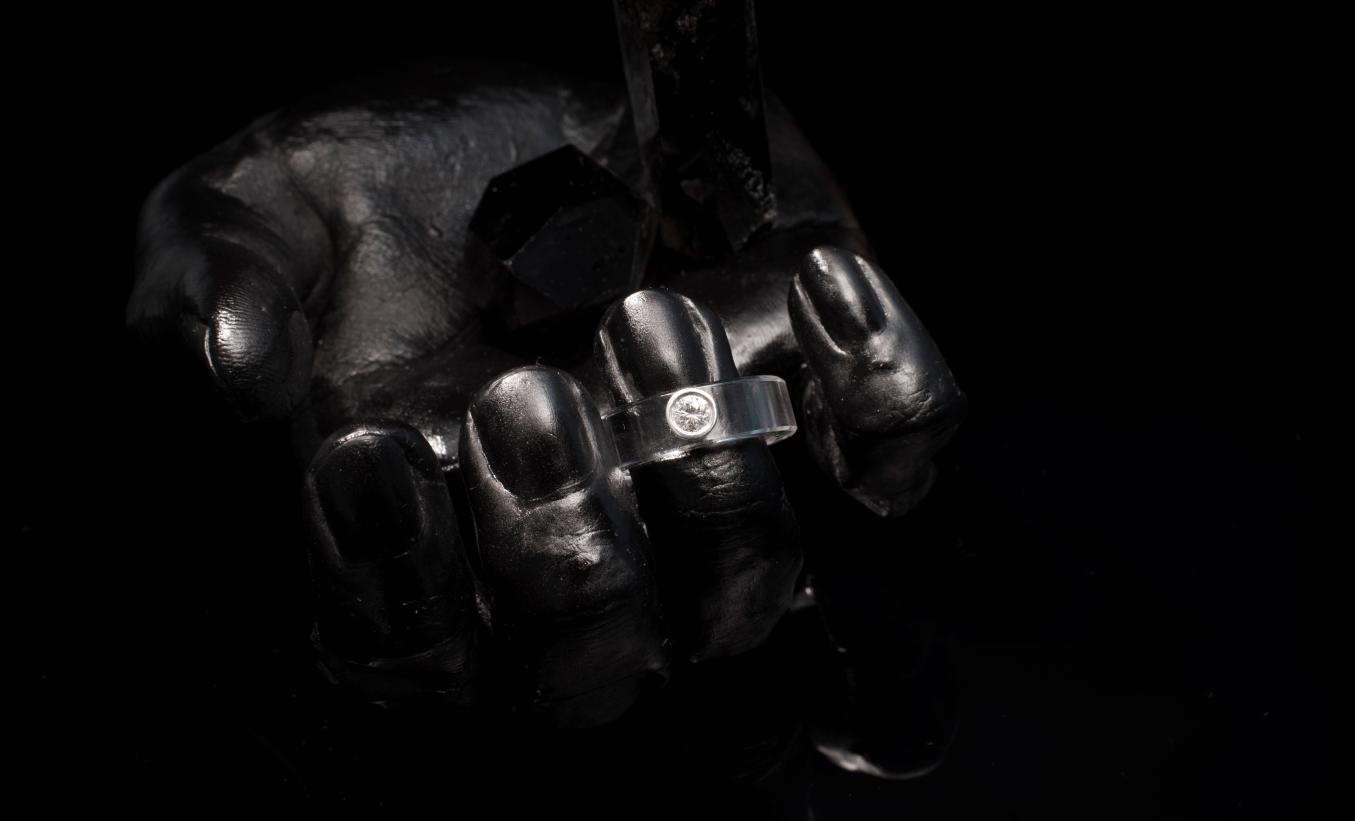 [double] diamond ring
