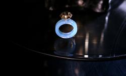 Ring [reversed]|[blue opal] ring