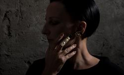 [prosthetic lobes] earrings