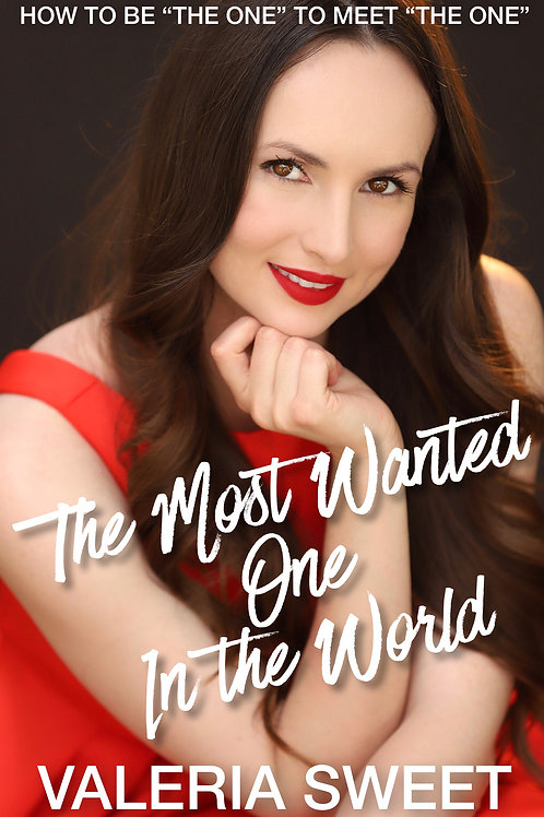 """The Most Wanted One In the World"" paperback"