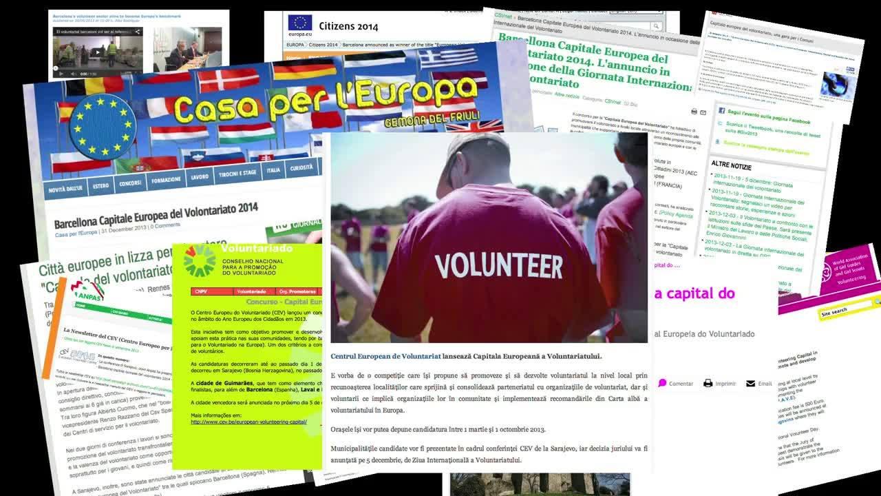 2014 European Volunteering Capital