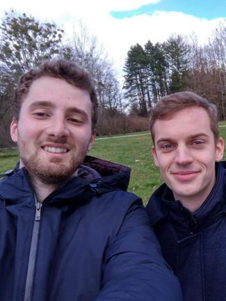 Tom and Pierre - EuSC Volunteers in Croatia