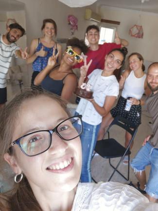 Salimata - EuSC volunteer in Cyprus