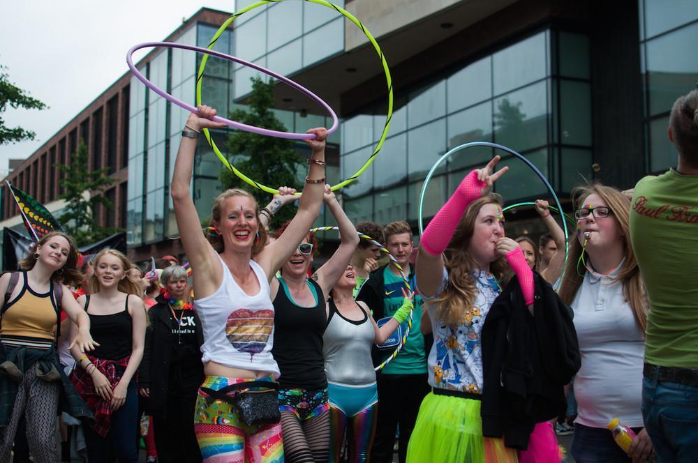 Vice Rise Hoop Dance Bristol Pride