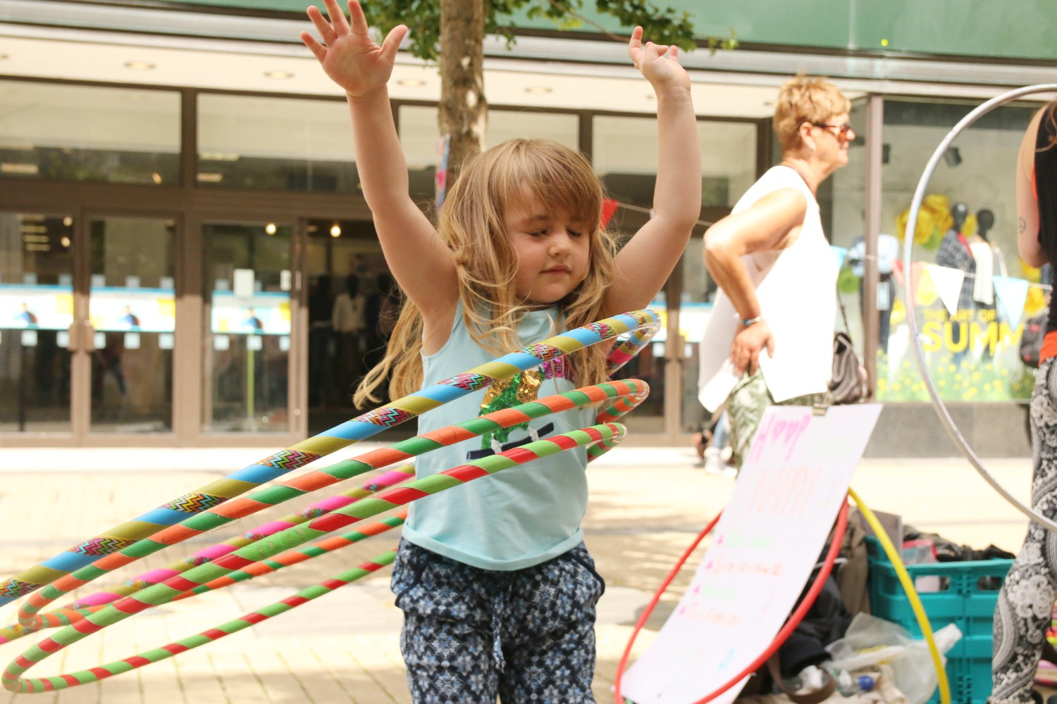 Rise Hoop Dance Bristol Kids Party