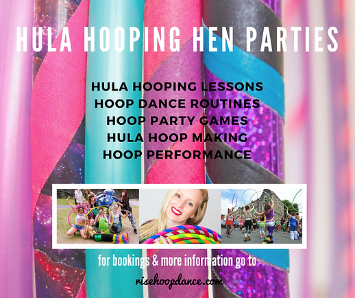 Rise Hoop Dance Bristol Hooping Hen Parties
