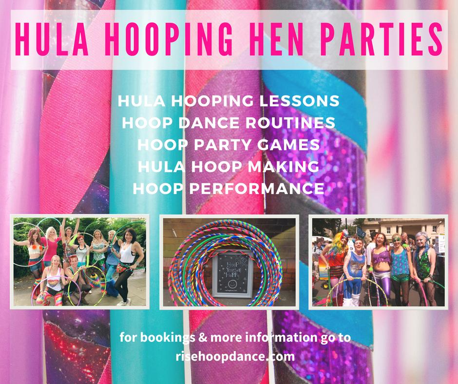 Rise Hoop Dance Bristol Hula Hooping Hen