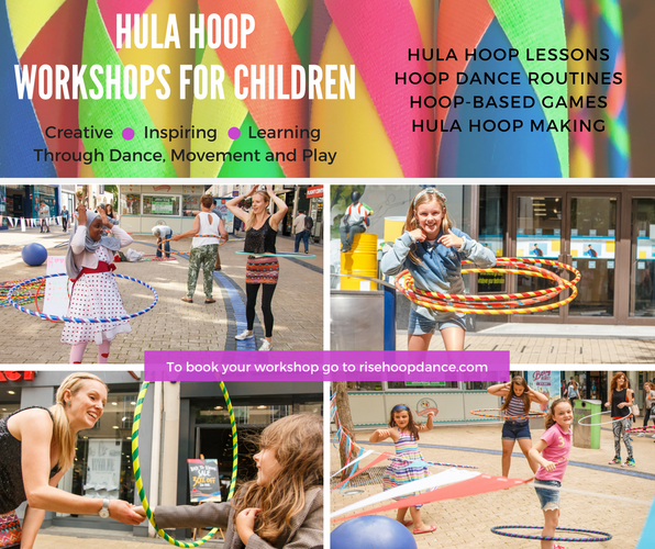 Rise Hoop Dance Bristol School Workshops Classes