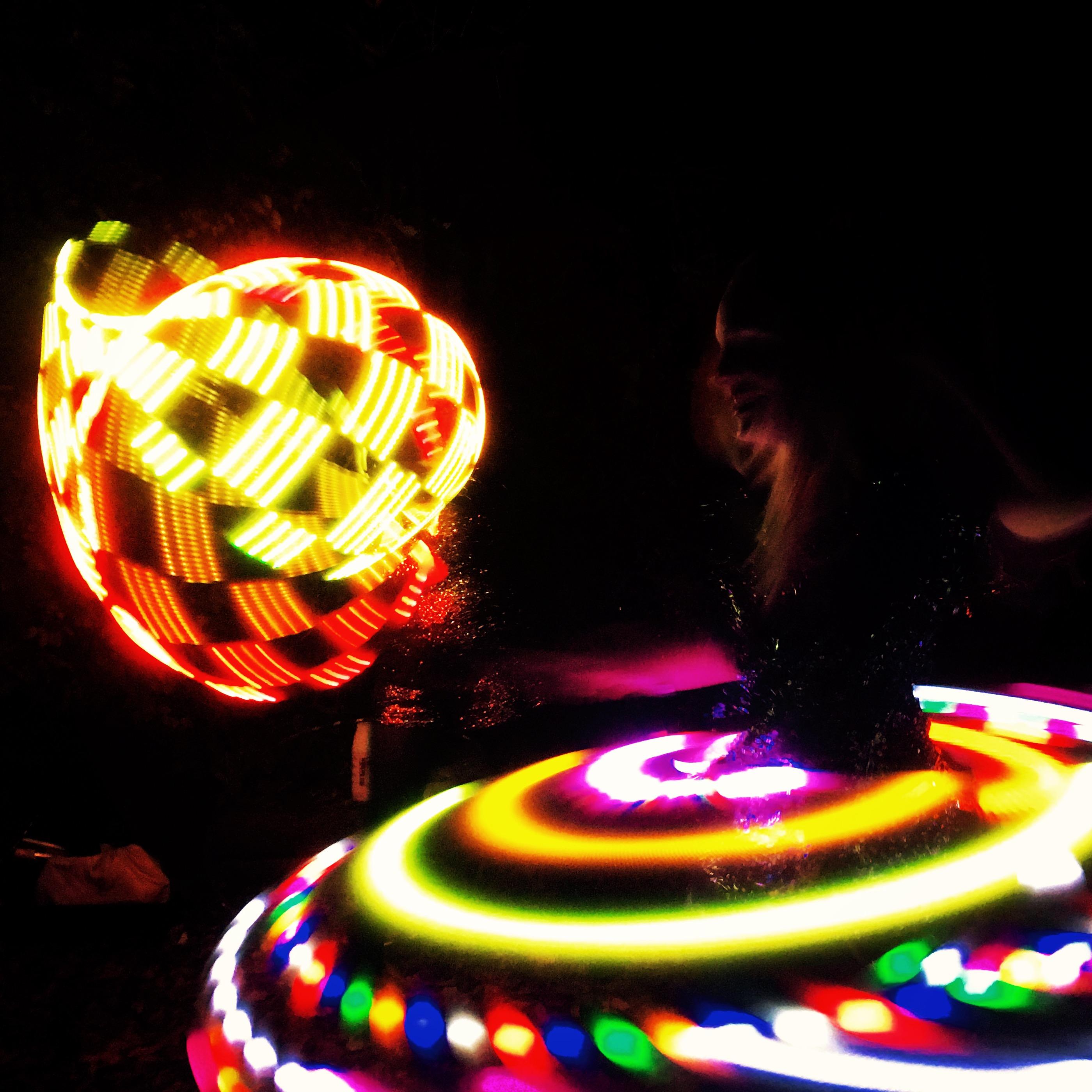 Rise Hoop Dance Bristol LED Video