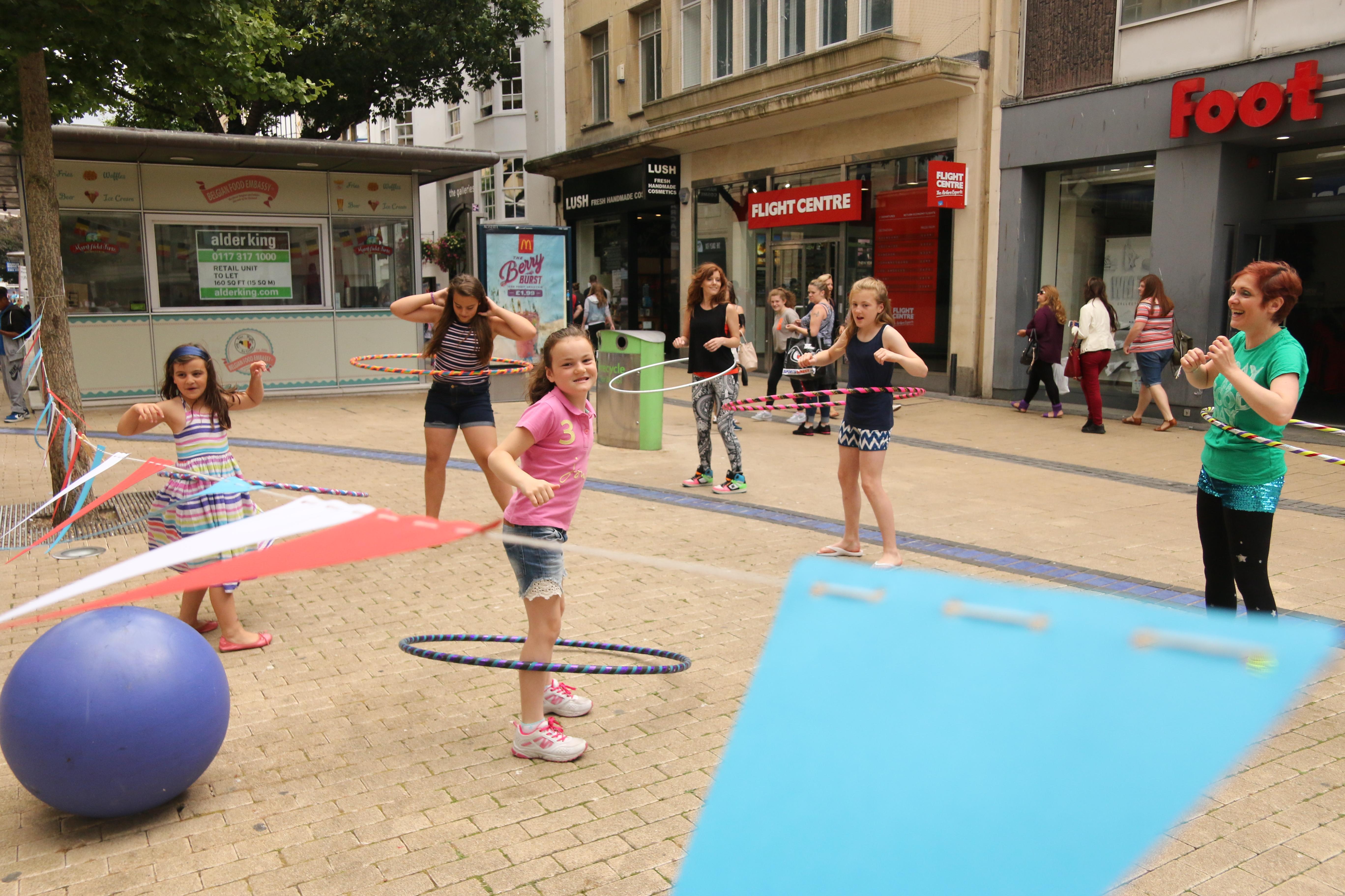Rise Hoop Dance Bristol Kids Parties