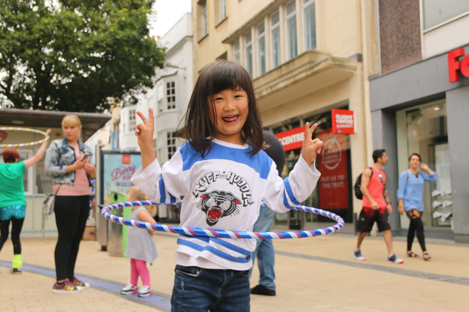Rise Hoop Dance Bristol hooping workshops youth groups
