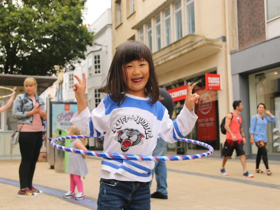 Rise Hoop Dance Bristol Workshops & Even