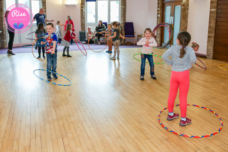 Rise Hoop Dance Bristol Hooping Kids