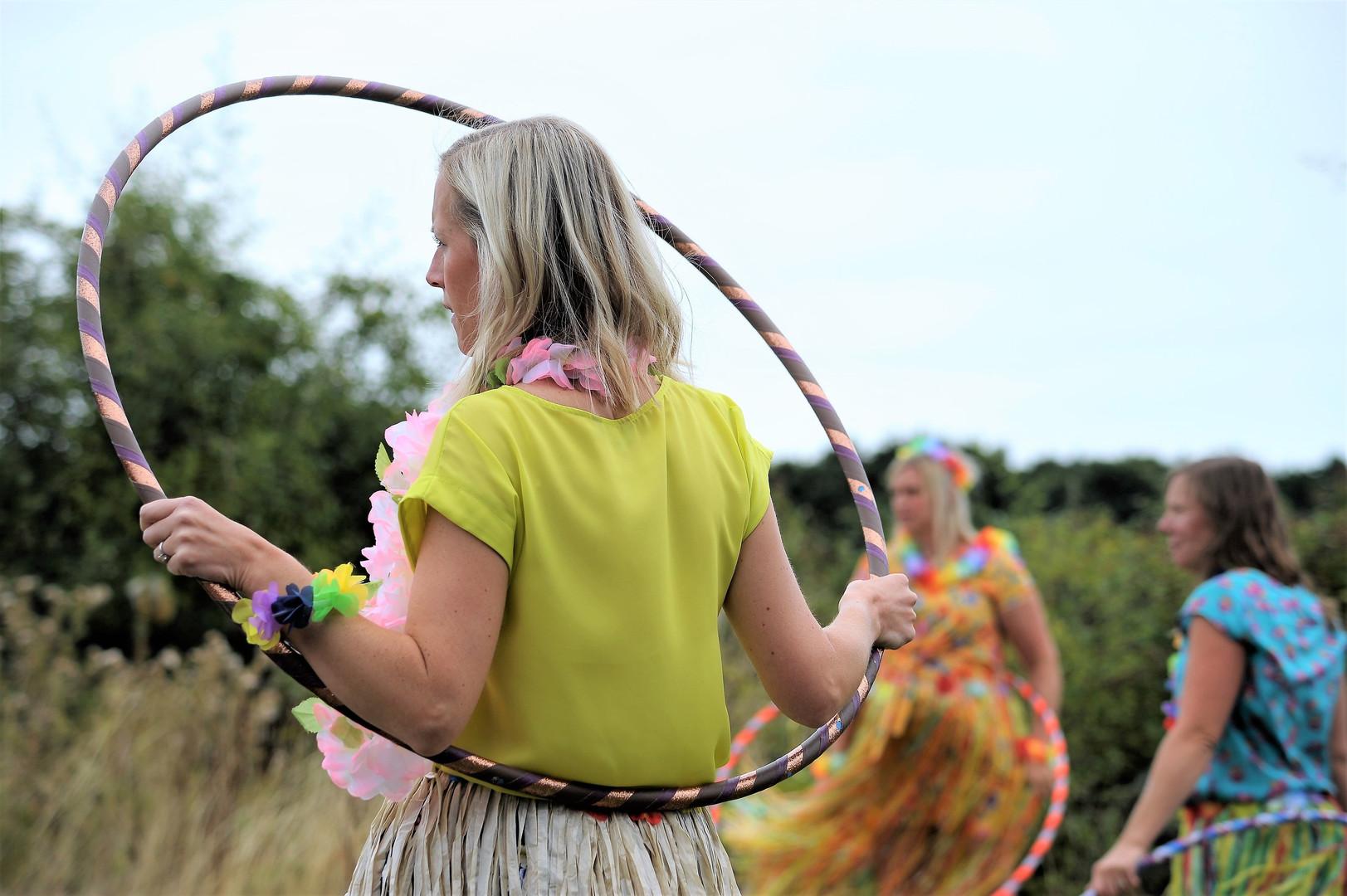 Rise Hoop Dance hula hooping hen parties in Bristol and beyond.