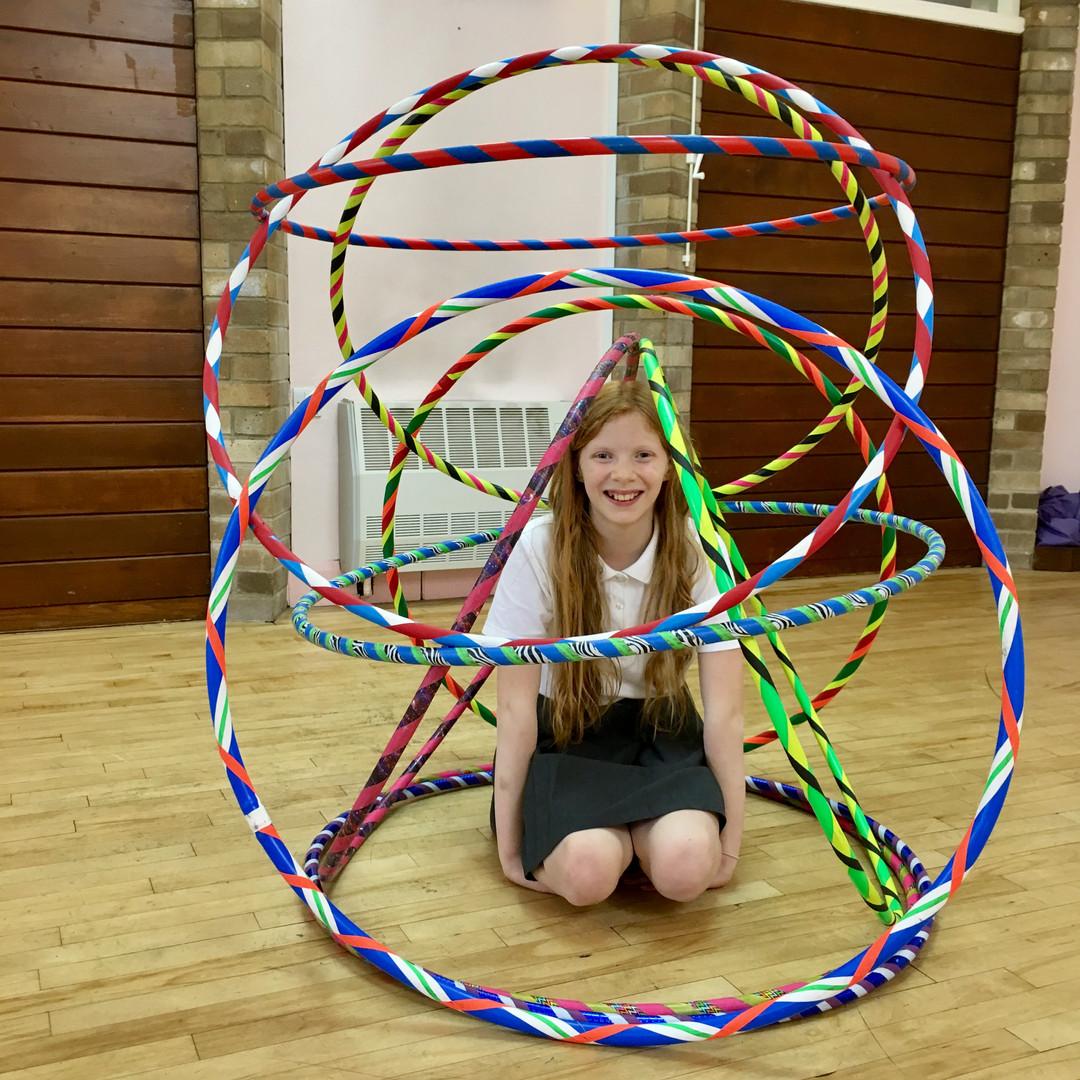 Rise Hoop Dance Bristol hooping workshops youth groups children