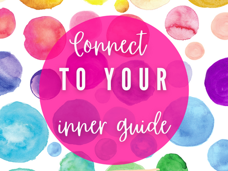 Connect to your inner guide in simple ways