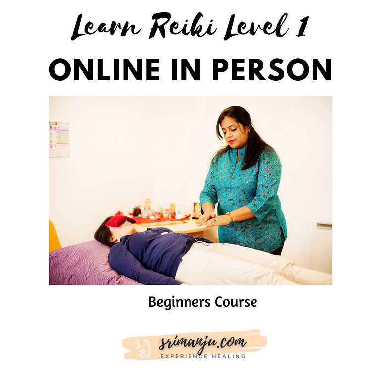 Reiki Beginners Level 1 - Online in person