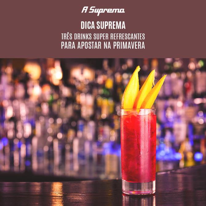 3 drinks super refrescantes para apostar na primavera