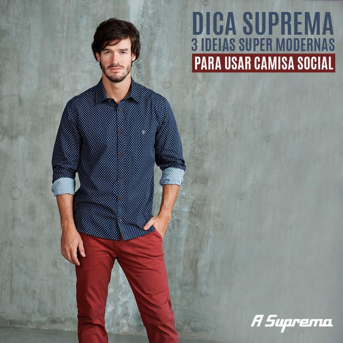 3 IDEIAS SUPER MODERNAS PARA USAR CAMISA SOCIAL