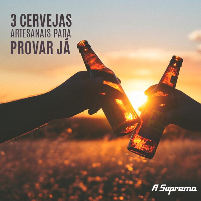 3 cervejas artesanais para experimentar já