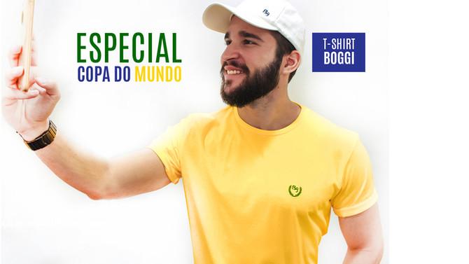 É hora de vestir a camisa! #BoggiCopaDoMundo