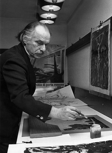Silvio Consadori, pittore