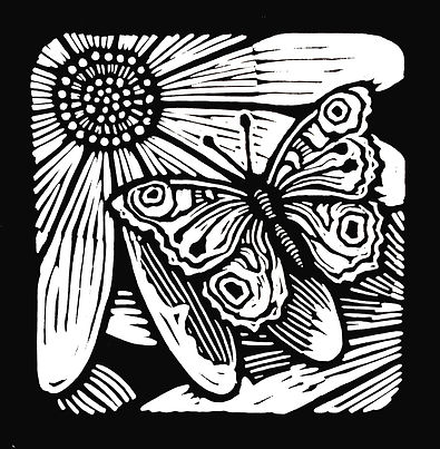 Butterfly and Flower - BW 2.jpg