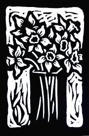 Daffodils BW.jpg