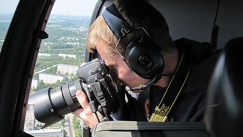 Aerial filming ilmakuvaus