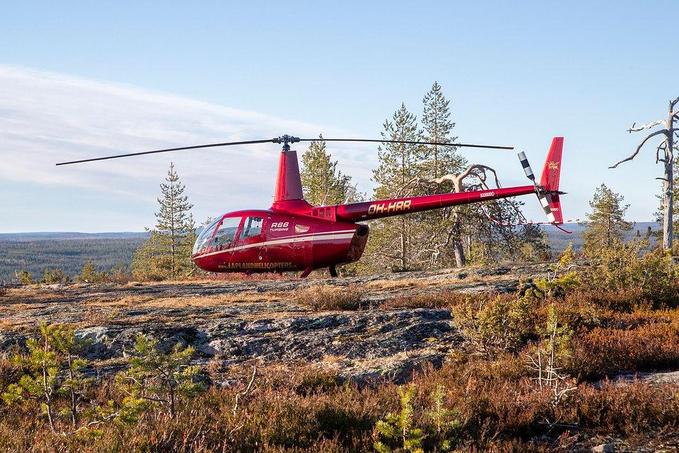 Laplandhelicopters-Helikopterikeskus-R66