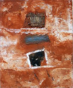 Cadre n°12 65x54cm la prisonnière