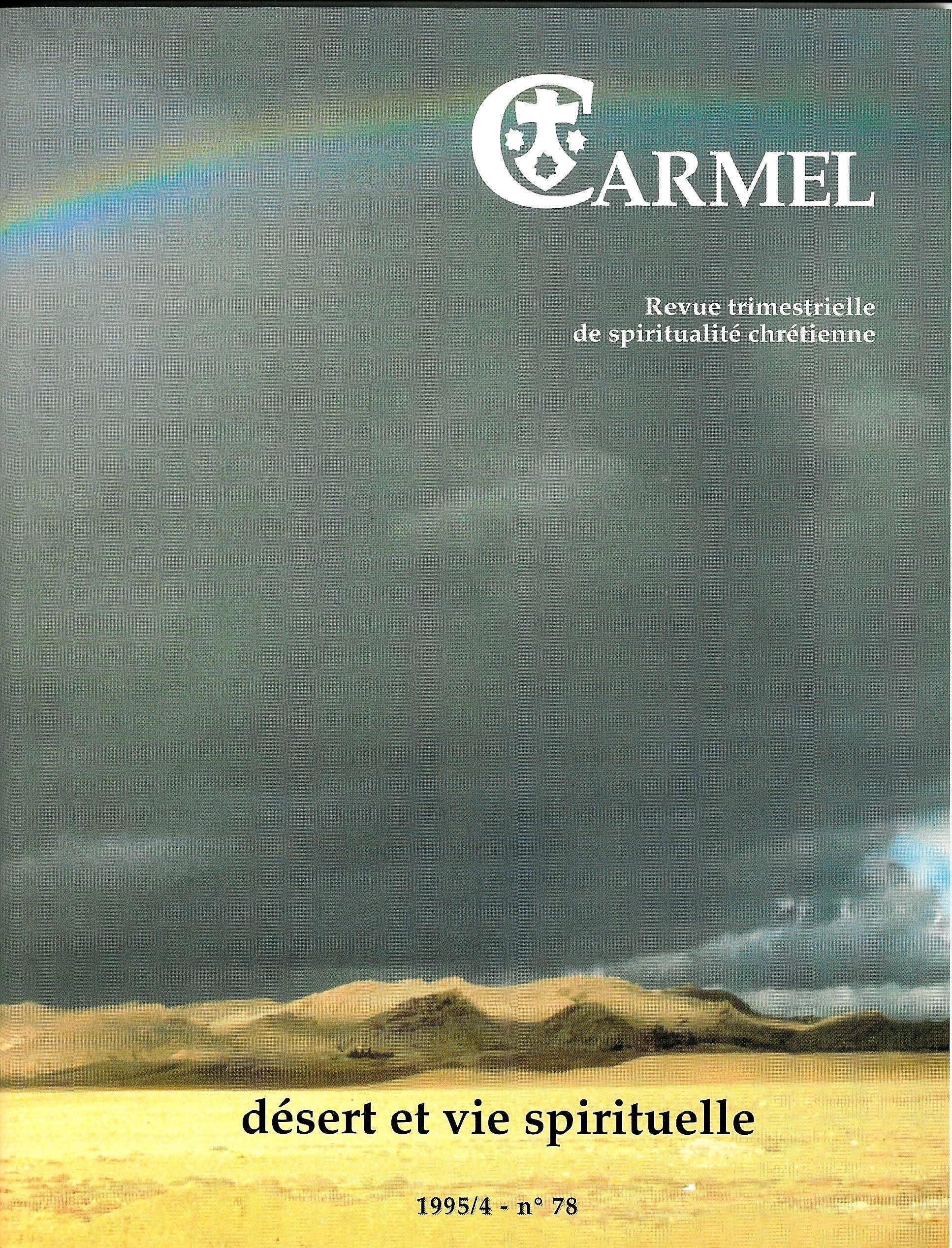 revue Carmel 1995