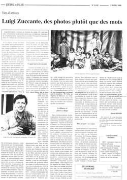 Le journal du palais17/04/1996