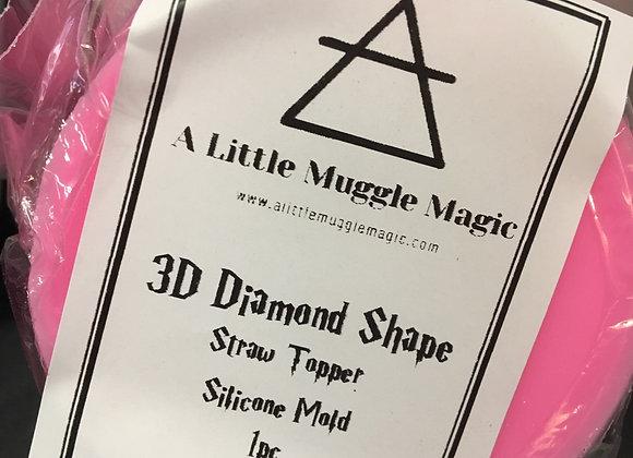 Diamond Straw Topper Mold
