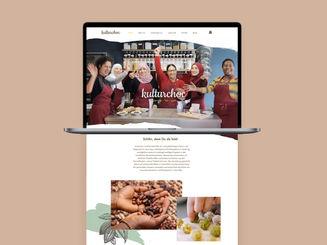kulturchoc – Webdesign   Branding
