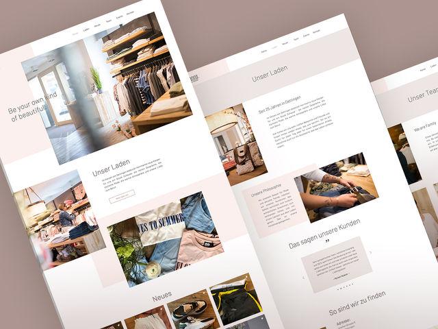 Hermanns Neue Kleider - Webdesign