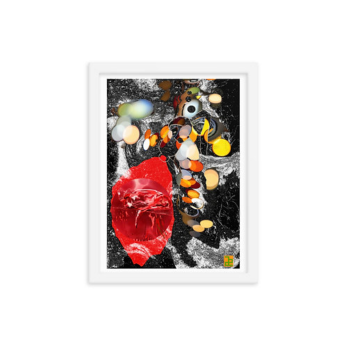 """Demeters bloodspread"" Framed photo paper poster"