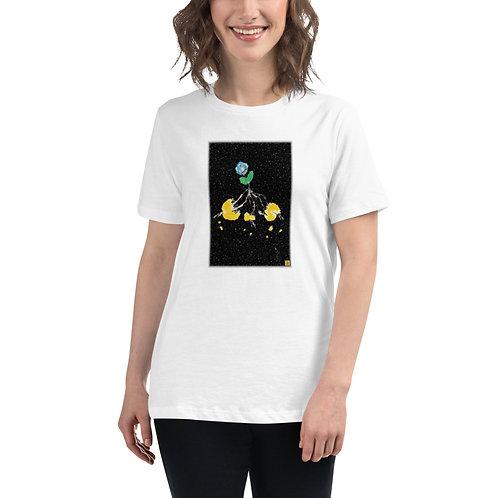 """""""Sunplant eat World"""" Women's Relaxed T-Shirt"""