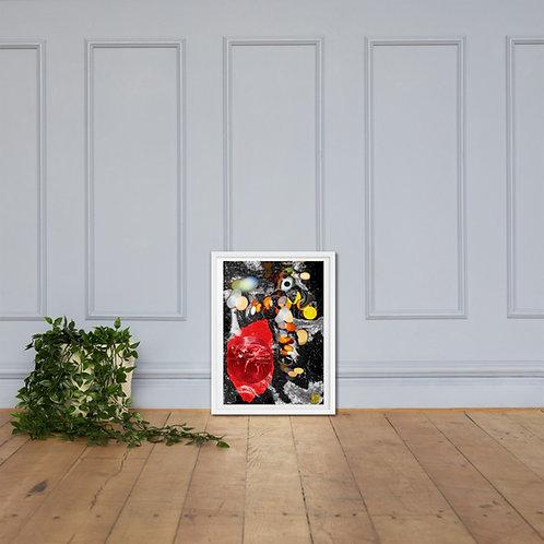 """""""Demeters bloodspread"""" Framed poster"""