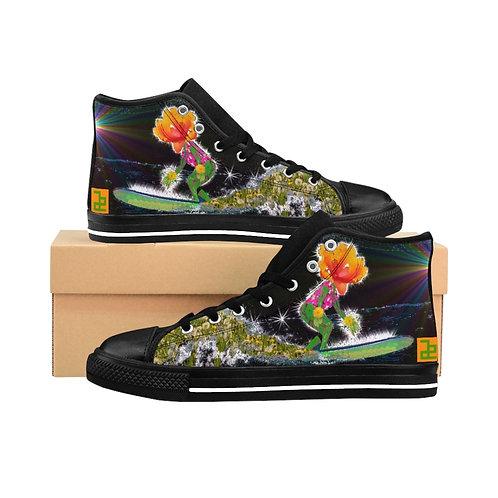 """""""Surfin`"""" - Women's High-top Sneakers"""