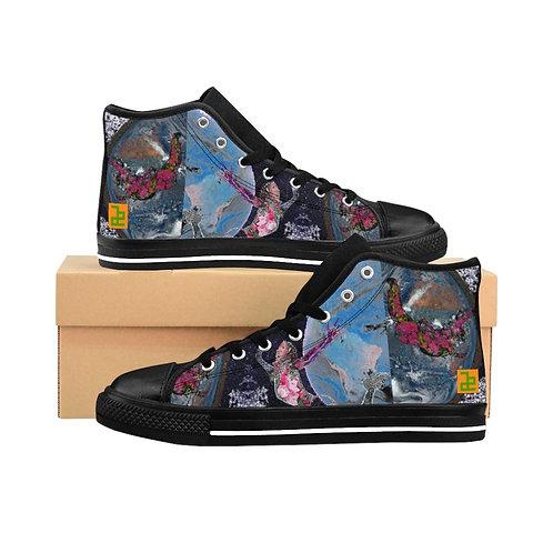 """holdON"" - Men's High-top Sneakers"