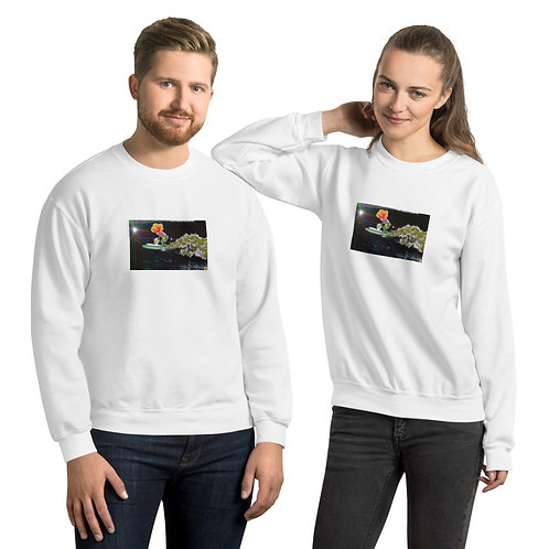 """""""Surfin`"""" Unisex Sweatshirt"""