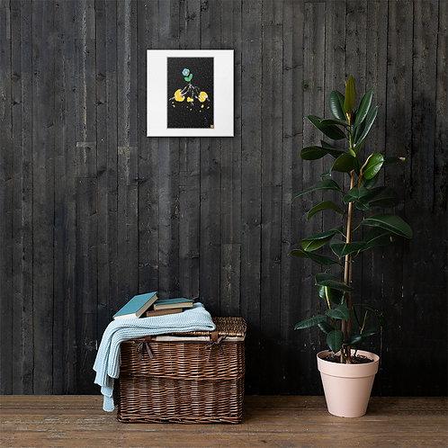 """Sunplant eat World"" Canvas"