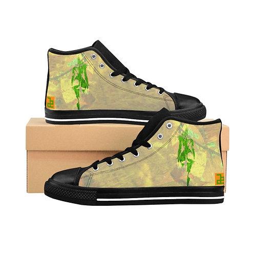 """""""believe"""" - Women's High-top Sneakers"""
