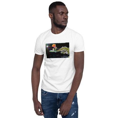 """Surfin`"" Kurzärmeliges Basic Unisex Softstyle T-Shirt - Gildan"