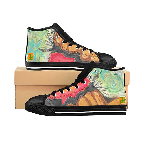 """""""Tree of all"""" - Women's High-top Sneakers"""