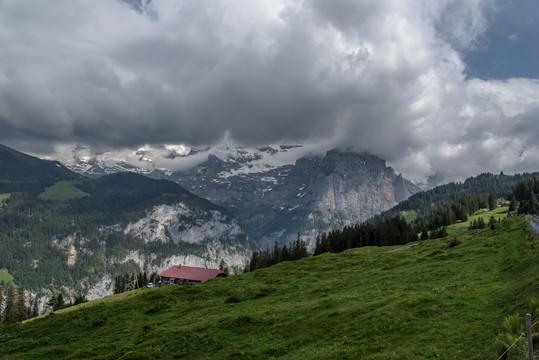 Swiss Alps (🇨🇭 Alpine region in Switzerland)